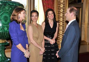 Kim Robson Ortiz;Dalit Nuttal;Christina Juffali;HRH The Earl of Wessex