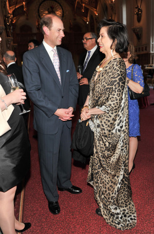 The Earl of Wessex;Bianca Jagger