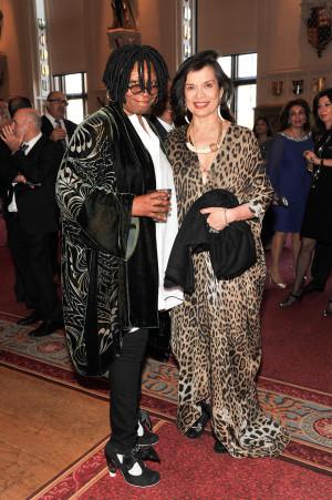 Whoopi Goldberg;Bianca Jagger