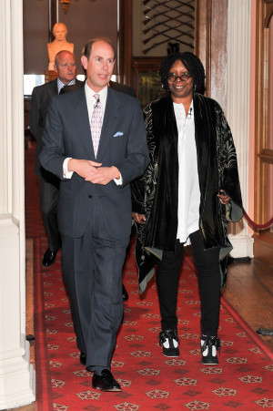 The Earl of Wessex;Whoopi Goldberg