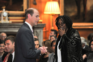 Whoopi Goldberg;The Earl of Wessex;