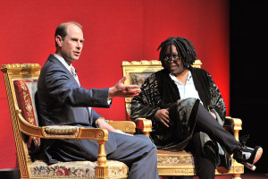 ;The Earl of Wessex;Whoopi Goldberg